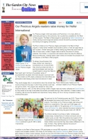 Our Precious Angels make the  Garden City News 06/24/16